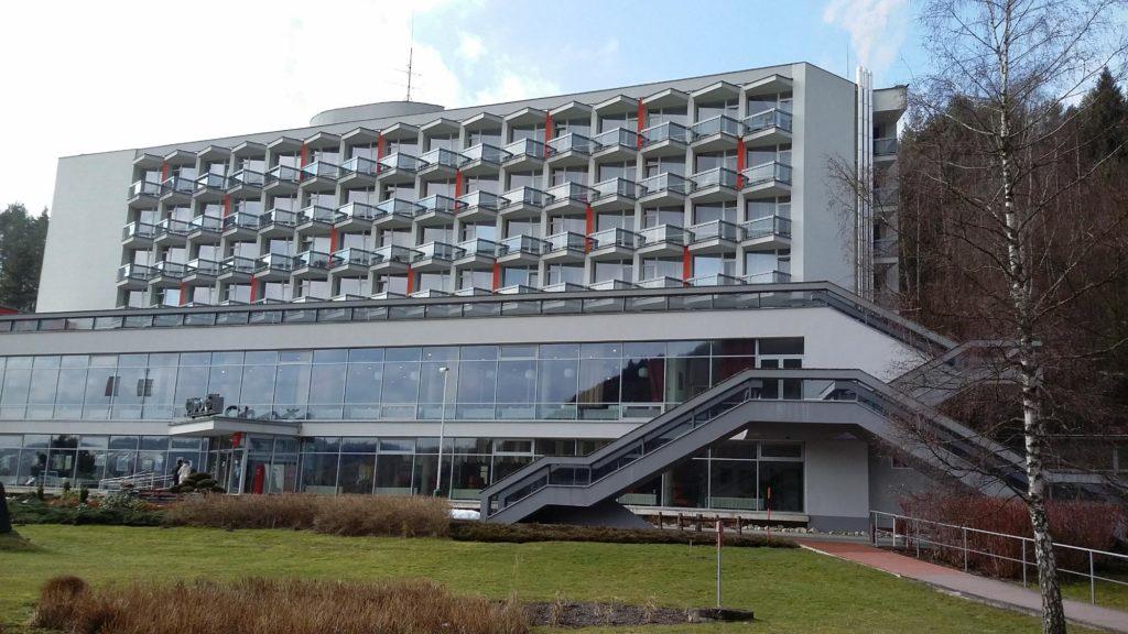 Exteriér hotela Choč