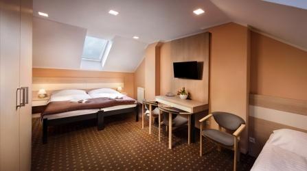 Trojlôžková izba hotel Kubo